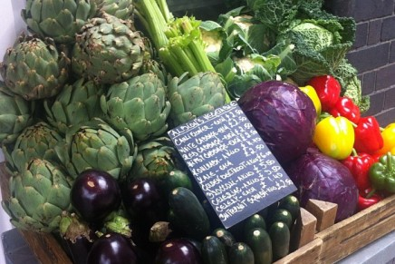 Albion for brunch, late night bread and beautiful veg displays (Shoreditch)