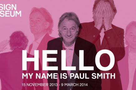 Hello My Name is Paul Smith at the Design Museum